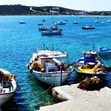 aliki fishing port paros